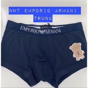 NWT Emporio Armani Trunk